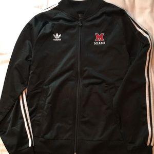 Adidas Miami University Track Jacket